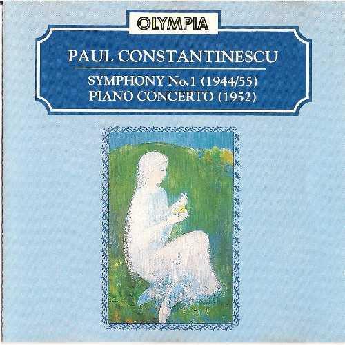 Paul Constantinescu: Symphony No. 1, Piano Concerto (APE)