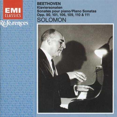 Solomon: Beethoven - Piano Sonatas Opp. 90, 101, 106, 109, 110 & 111 (2 CD, FLAC)