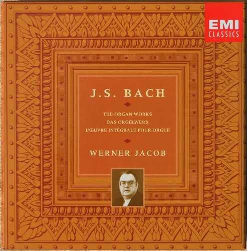 Werner Jacob: Bach - The Organ Works (16 CD box set, FLAC)
