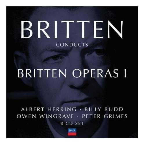 Britten Conducts Britten: Operas Vol.1 (8 CD box set, FLAC)