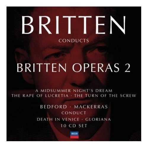 Britten Conducts Britten: Operas Vol.2 (10 CD box set, FLAC)