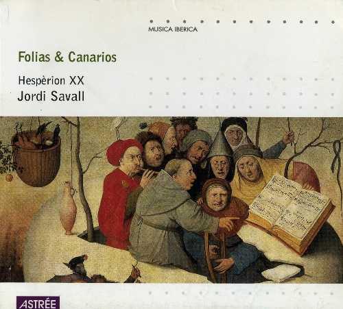 Jordi Savall: Folias & Canarios (APE)