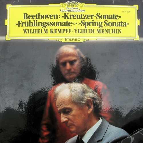Kempff, Menuhin: Beethoven - Kreutzer Sonate, Fruhlingssonate (FLAC)