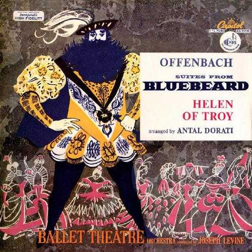 Offenbach/Dorati: Suites from Bluebeard and Helen of Troy (APE)