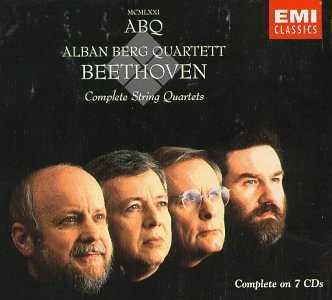 Alban Berg Quartet: Beethoven - Complete String Quartets (7 CD box set, FLAC)