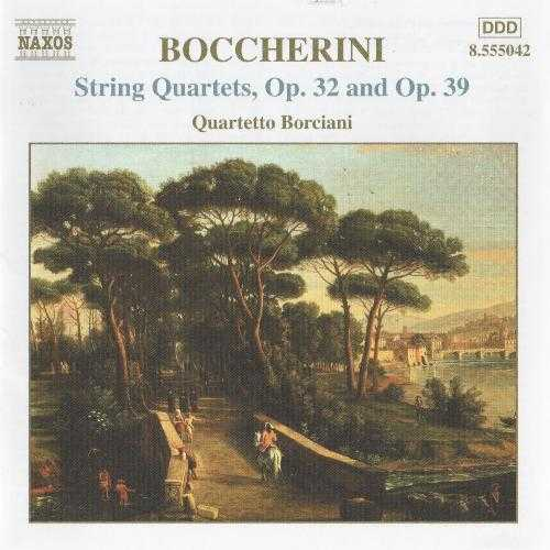 Boccherini: String Quartets, Opp. 32 and 39 (1 CD, WV)