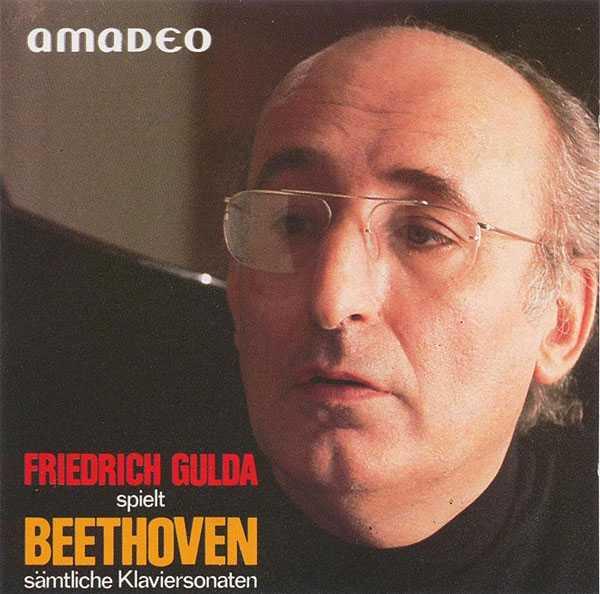 Friedrich Gulda: Beethoven - Piano sonatas (9 CD box set, APE)