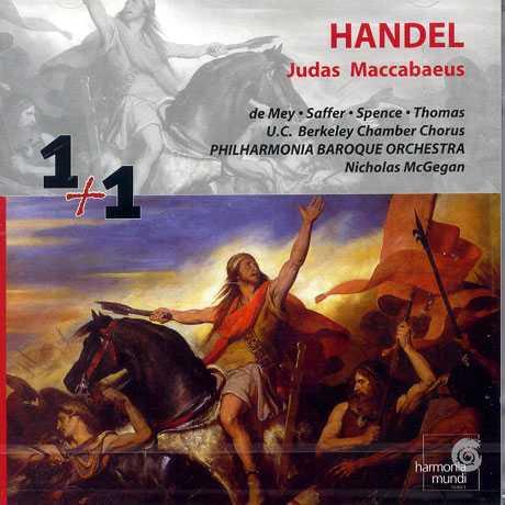 Handel: Judas Maccabaeus (2 CD, APE)