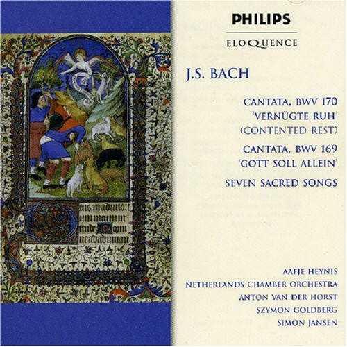 J.S. Bach: Cantata BWV 170; Cantata BWV 169; Seven Sacred Songs (APE)