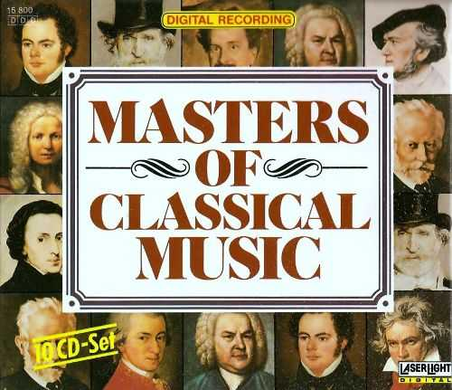Masters of Classical Music (10 CD box set, FLAC)