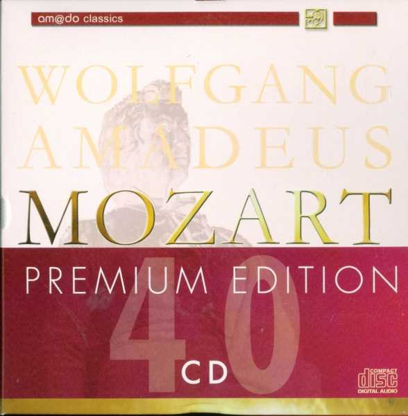 Mozart Premium Edition (40 CD box set, FLAC)