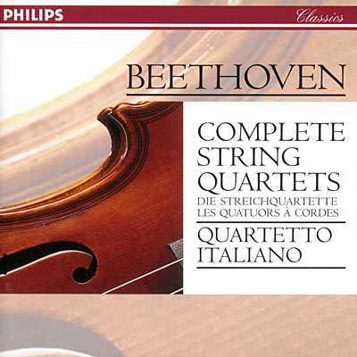 Quartetto Italiano: Beethoven - Complete string quartets (10 CD box set, APE)