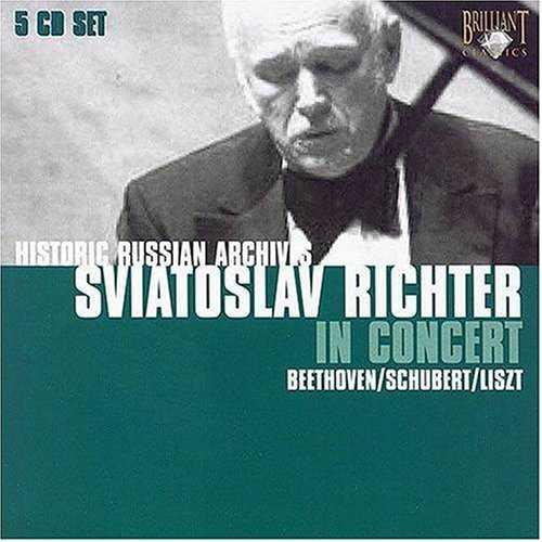 Sviatoslav Richter In Concert (5 CD box set, FLAC)