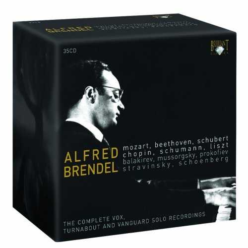 Alfred Brendel: The Complete Vox, Turnabout and Vanguard Solo Recordings (35 CD box set, APE)