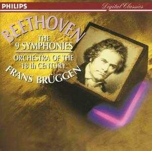 Bruggen: Beethoven - The 9 Symphonies (5 CD box set, APE)