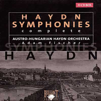 Fischer: Haydn Complete Symphonies (33 CD box set, FLAC)