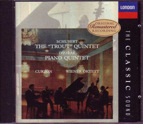 Schubert: Piano Quintet in A major / Dvorak: Piano Quintet in A major (APE)