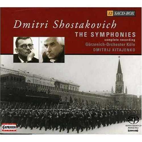 Shostakovich: The Complete Symphonies (12 Hybrid SACD box set, FLAC)