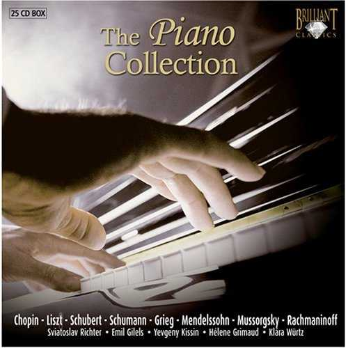 The Piano Collection (25 CD box set, FLAC)