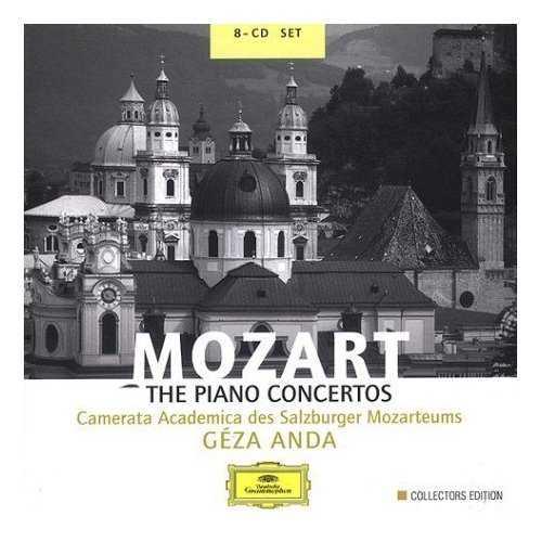 Anda: Mozart - The Piano Concertos, Collector's Edition (8 CD box set, FLAC)
