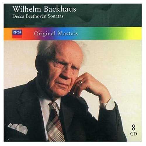 Wilhelm Backhaus - Decca Beethoven Sonatas (8 CD box set, FLAC)