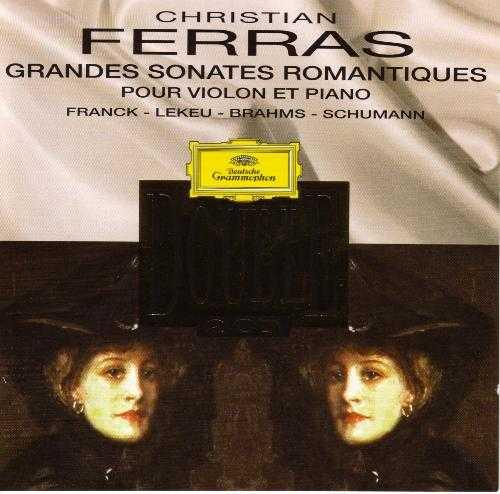 Ferras - Grandes Sonates Romantiques pour Violin et Piano (2CD, APE)