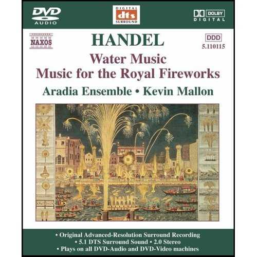 Mallon: Handel - Water Music, Music for the Royal Fireworks (DVD-A)