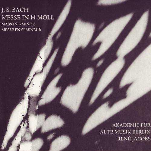 Rene Jacobs: Bach - Mass in B minor (2 CD, APE)