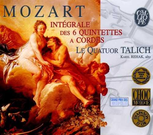 Talich Quartet: Mozart - The Six String Quintets (3 CD box set, APE)