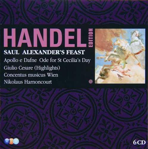 Harnoncourt: Handel Edition Vol.7 (6 CD box set, APE)