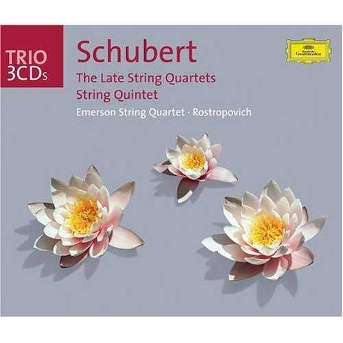 Schubert: The Late String Quartets (3 CD box set, APE)
