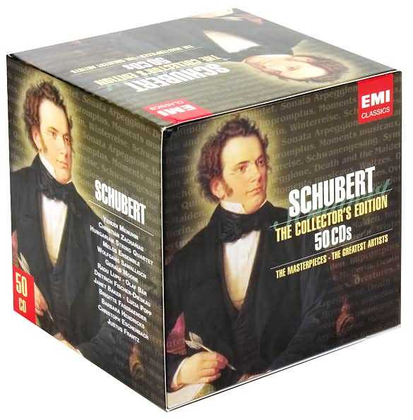 Schubert: The Collector's Edition (50 CD box set, FLAC)