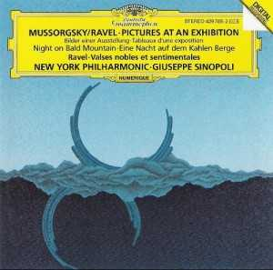 Sinopoli: Mussorgsky - Pictures at an Exhibition, Night on Bald Mountain; Ravel - Valses nobles et sentimentales (FLAC)