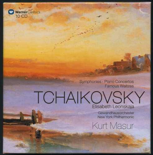 Tchaikovsky: Symphonies, Piano Concertos, Famous Waltzes (10 CD box set, FLAC)