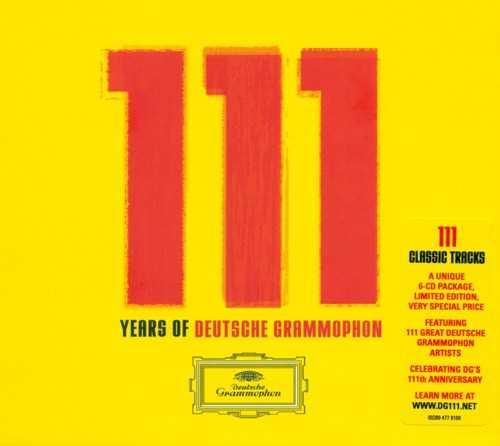 111 Years of Deutsche Grammophon: 111 Classic Tracks (6 CD box set, FLAC)