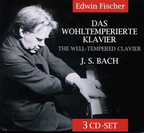 Edwin Fischer: Bach - The Well-Tempered Clavier (3 CD, FLAC)