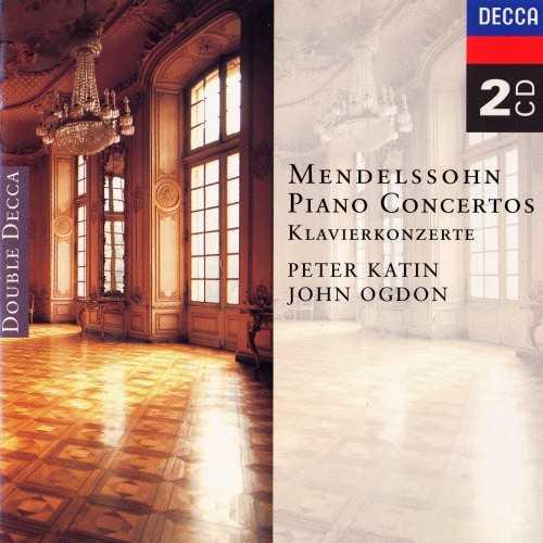 Katin, Ogdon: Mendelssohn - Piano Concertos (2 CD, APE)