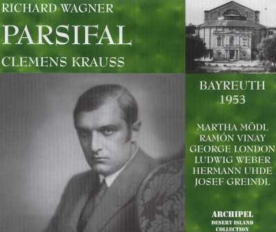 Krauss: Wagner - Parsifal (4 CD box set, APE)