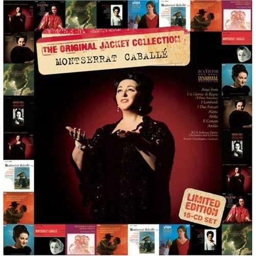 Montserrat Caballe: The Original Jacket Collection (15 CD box set, FLAC)