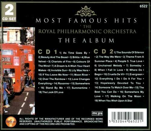 The Royal Philharmonic Orchestra - Most Famous Hits