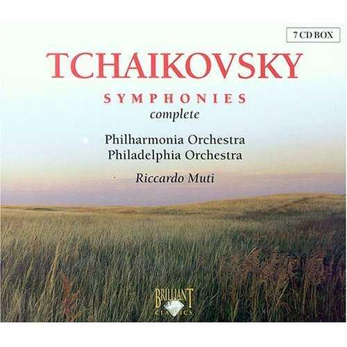 Muti: Tchaikovsky - Symphonies Complete (7 CD box set, FLAC)