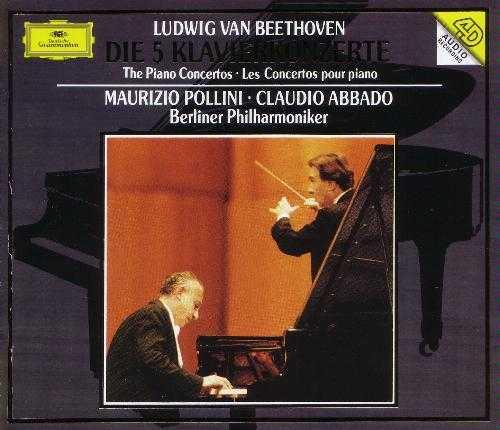 Abbado, Pollini: Beethoven - Die 5 Klavierkonzerte (3 CD, FLAC)