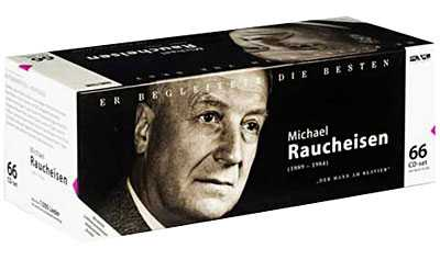 Michael Raucheisen - Man at the Piano (66 CD box set, APE)