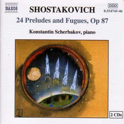 Scherbakov: Shostakovich - 24 Preludes and Fugues op.87 (2 CD, FLAC)