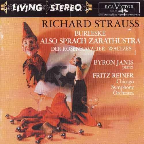 Richard Strauss - Burleske, Also Sprach Zarathustra, Der Rosenkavalier Waltzes (APE)