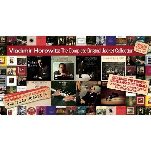 Vladimir Horowitz - The Complete Original Jacket Collection (70 CD box set, APE)
