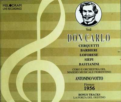 Votto: Verdi - Don Carlo (3 CD box set, FLAC)