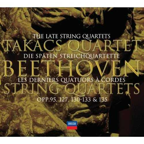 Beethoven: The Late String Quartets (3 CD, APE)