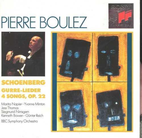 Boulez: Schoenberg - Gurre-Leider,  4 Songs Op. 22 (2 CD, APE)