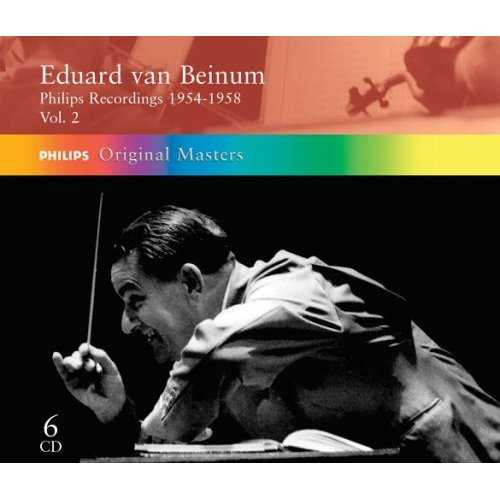 Eduard van Beinum: Philips Recordings 1954-1958 (6 CD box set, APE)